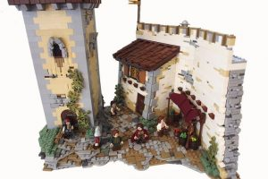 Lord of the Rings LEGO Houses