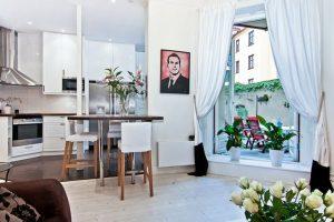 Apartment with Scandinavian Design