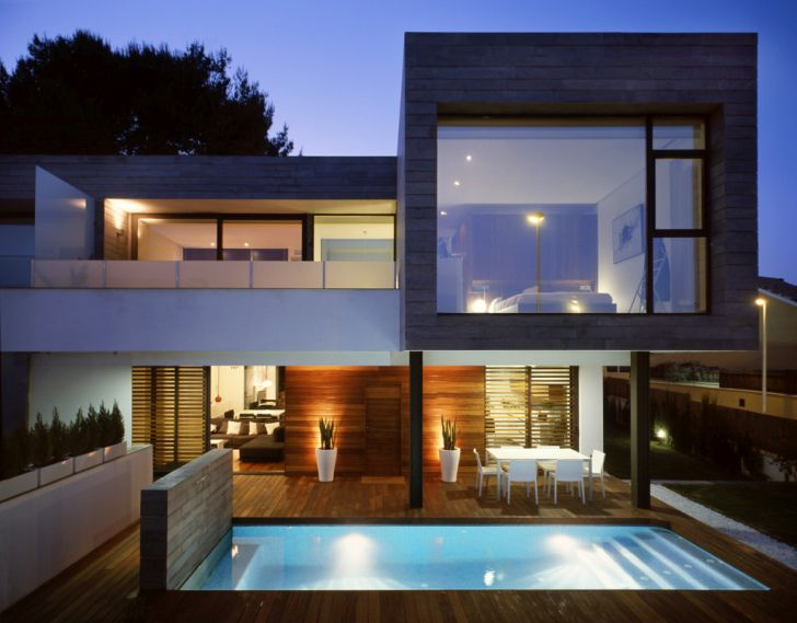 Modern Design Semi Detached Houses