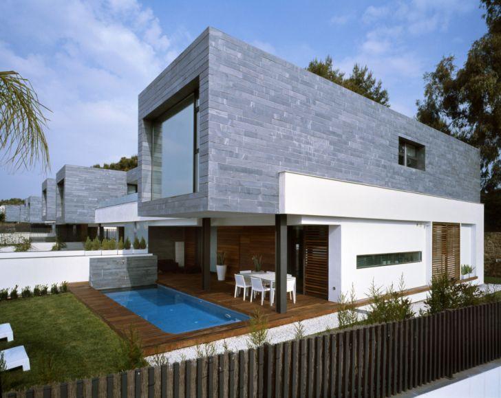 Modern Semi-Detached Homes by Antonio Altarriba