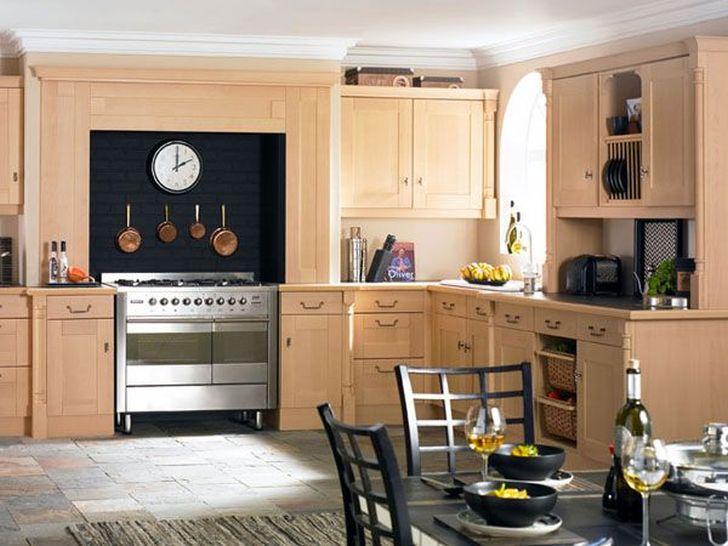 Traditional Kitchen Design Arrangement