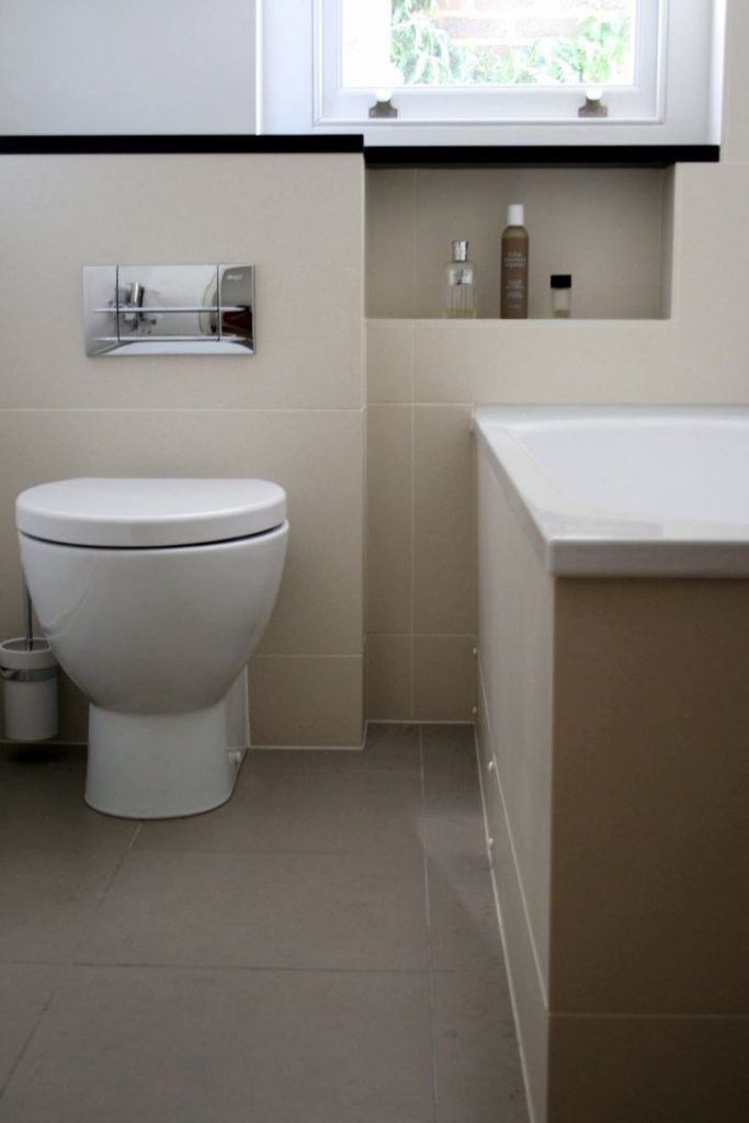 Back to Wall Pan with Concealed Cistern