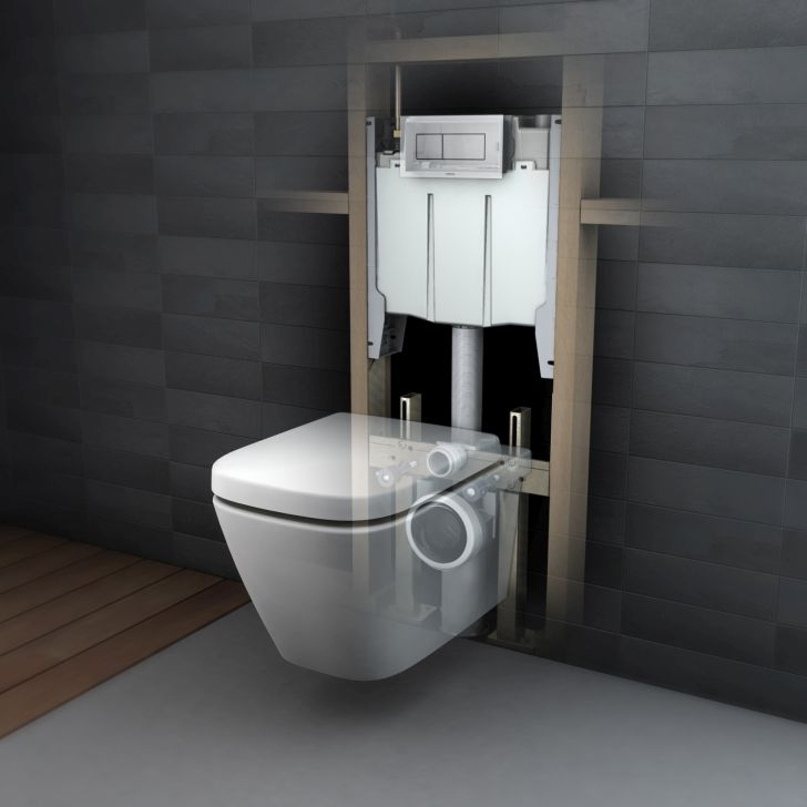 Caroma Invisi Concealed Cistern
