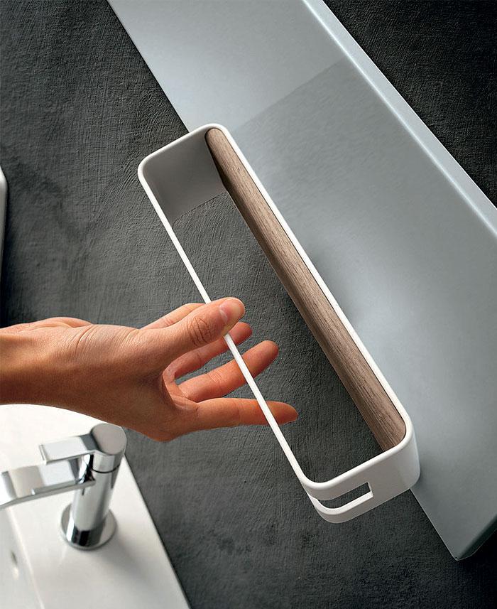 Magnetika Wall System Towel Rail 2