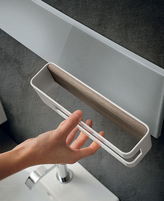 Magnetika Wall System Towel Rail 3