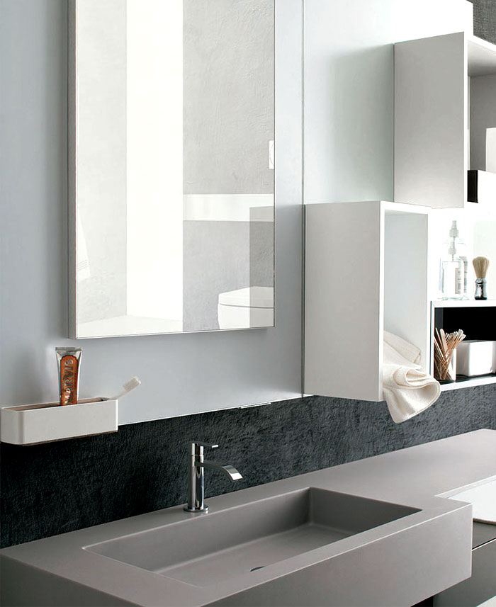 Magnetika Wall System for Mirror and Storages