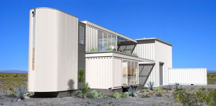 Container House in Mojave Desert by Ecotech Design 02