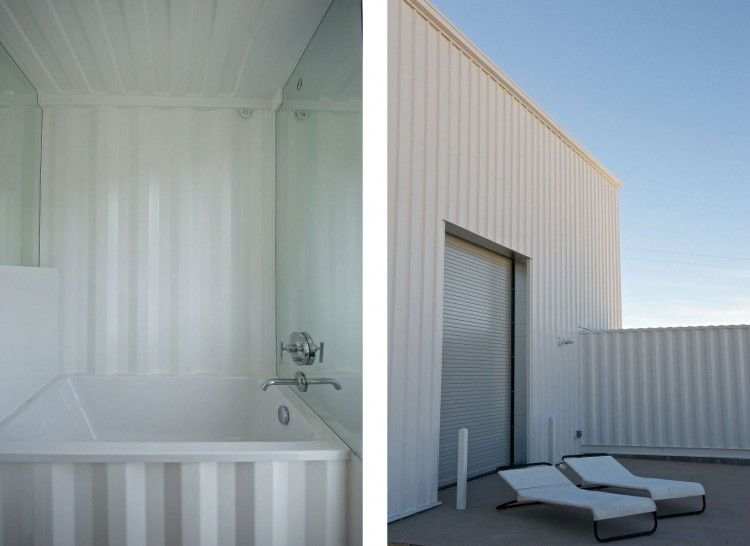 Container House in Mojave Desert by Ecotech Design 15
