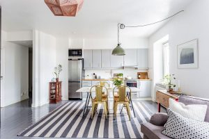 grey and white kitchen Light Grey Kitchen Cabinets Grey Wood Floors 07