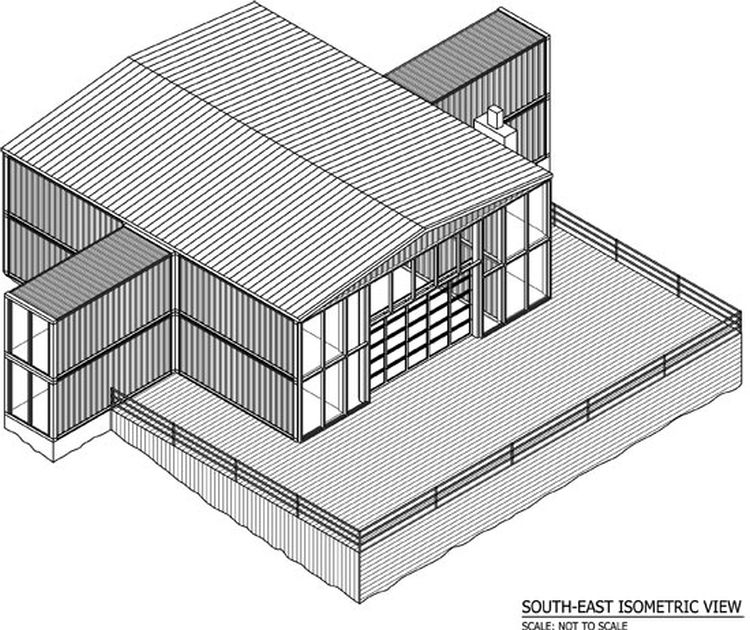 The 12 Container House 08