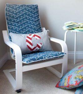 nautical themed ikea poang chair hack
