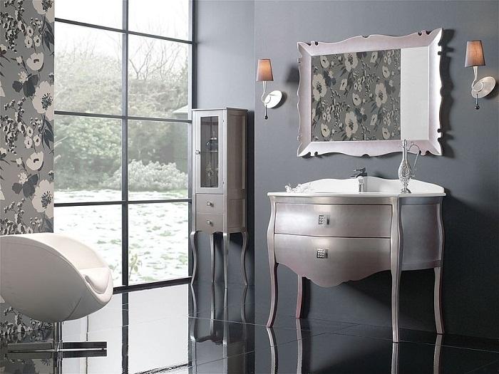 Arts and Craft Bathroom Cabinets2