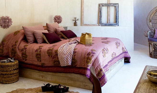 Boho-Chic Bedroom Decorating Ideas