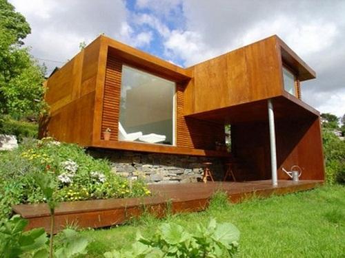 Contemporary Prefab Homes Floor Plan