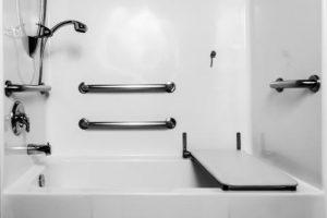 Horizontal Bathroom Safety Bars