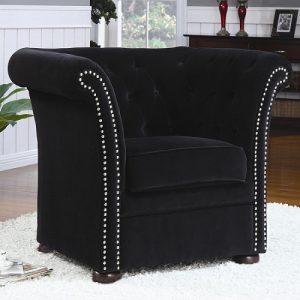 Upholstered Swivel Chair Modern