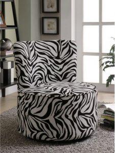 Swivel Upholstered Living Room Chair