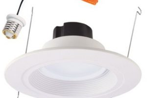 Halo 4 Inch Recessed Lighting Trim