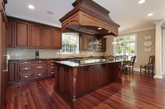 best kitchen colors with dark cabinets what color to paint kitchen with cherry cabinets home 12111