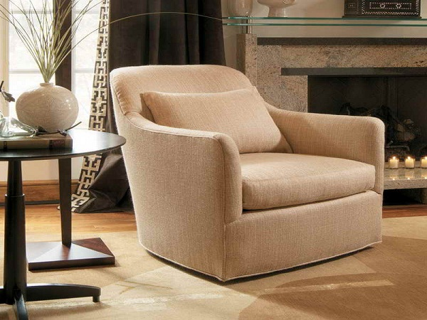 upholstered swivel chairs for living room home design tips and guides. Black Bedroom Furniture Sets. Home Design Ideas