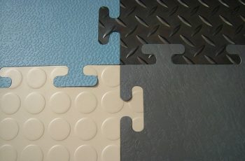 Interlocking Rubber Floor Mat Tiles