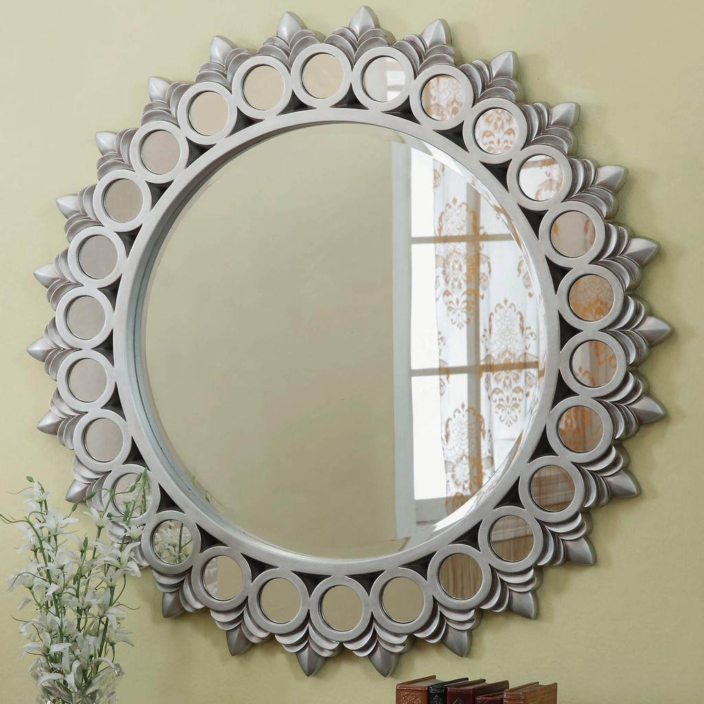 Accent Large Wall Mirrors for Living Room