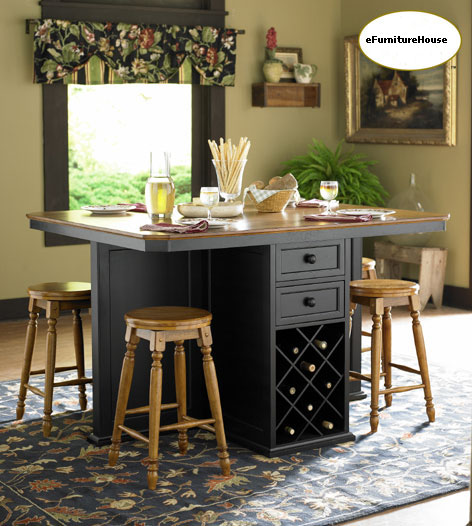 Counter Height Kitchen Tables Island