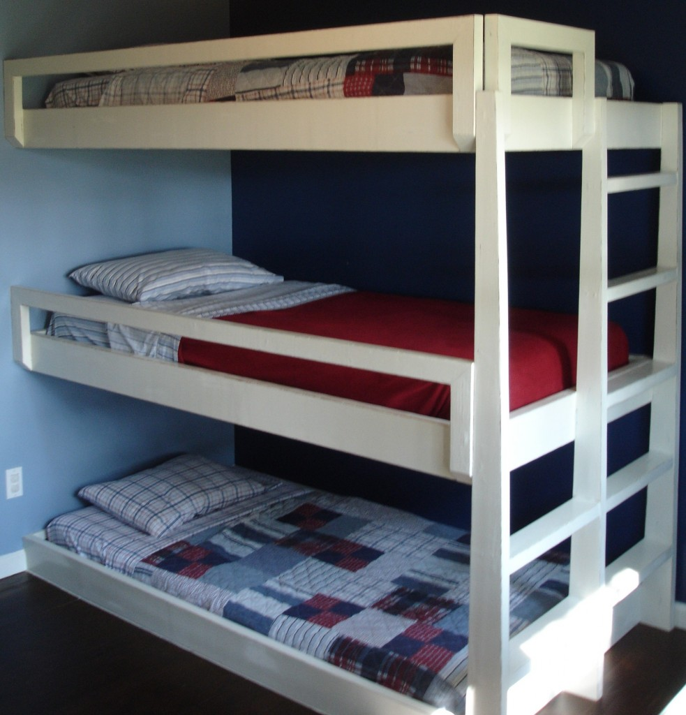 Triple Bunk Bed for Boy