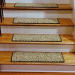 Carpet Stair Treads Leopard Style