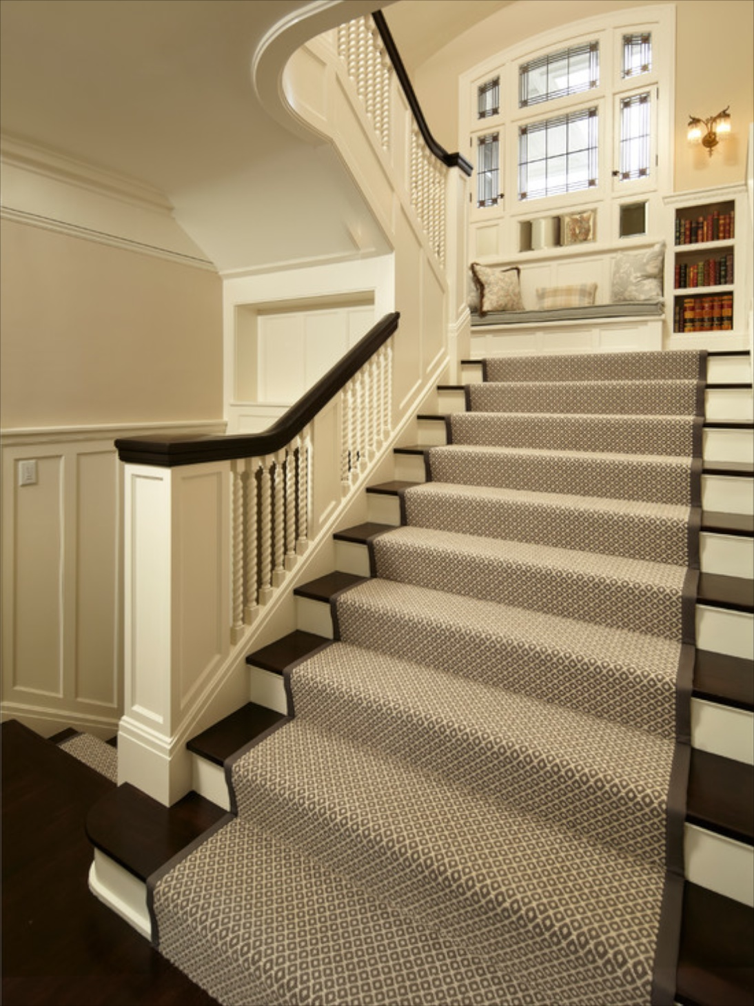 Make Your Stairs Safer With Carpet Stair Treads Home