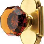 Crystal Door Knobs Brushed Nickel