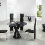Glass Dining Table Sets Twin Twirl Round