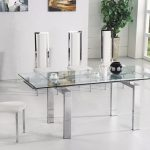 Glass Dining Table Sets York Extending