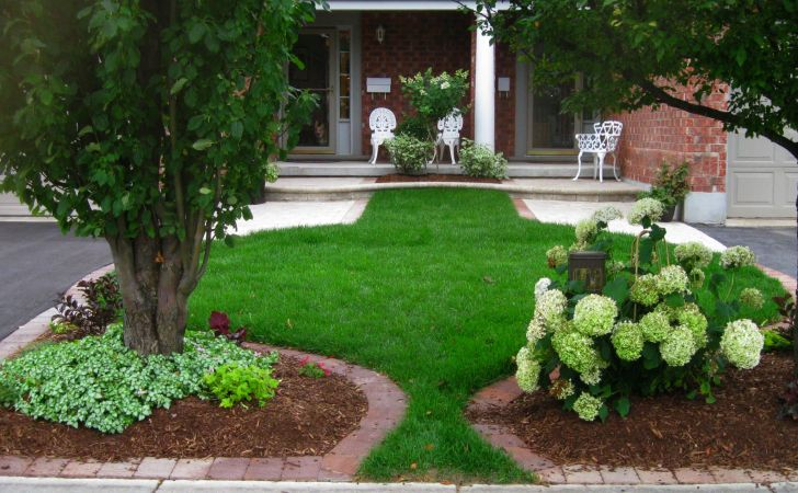 Landscape Ideas for Front Yard Exterior Garden
