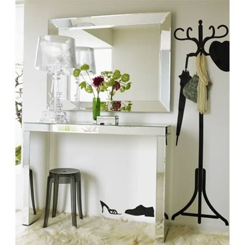 Mirrored Furniture Design Decoration