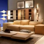 Modern Sofa Design Furniture with Light