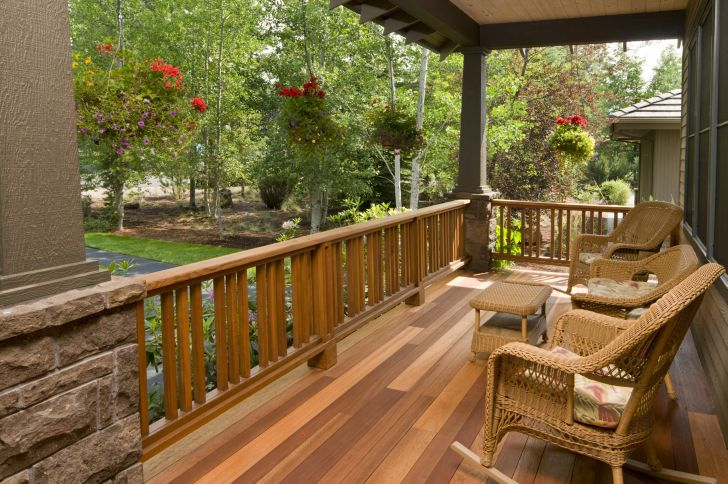 outdoor deck ideas colors