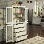 Glass Cabinet Pantry Storage
