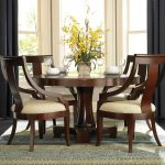 Pedestal Dining Table Set Coaster Cresta