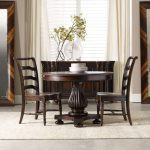 Pedestal Dining Table Set Eastridge 3pc Round