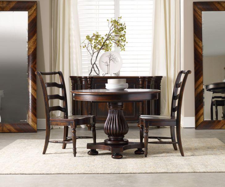 Pedestal Dining Table Set Eastridge 3pc Round