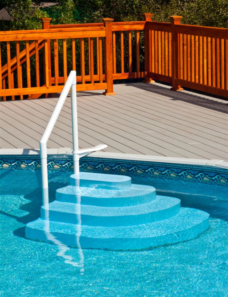 Pool Stairs for Above Ground Pools
