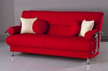 Cheap Futon Sofa Bed Red