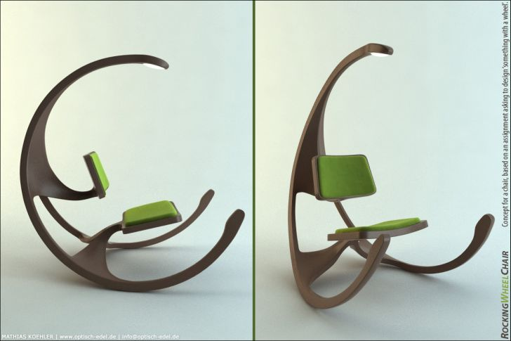 Rocking Chair with Rock N Roll Concept