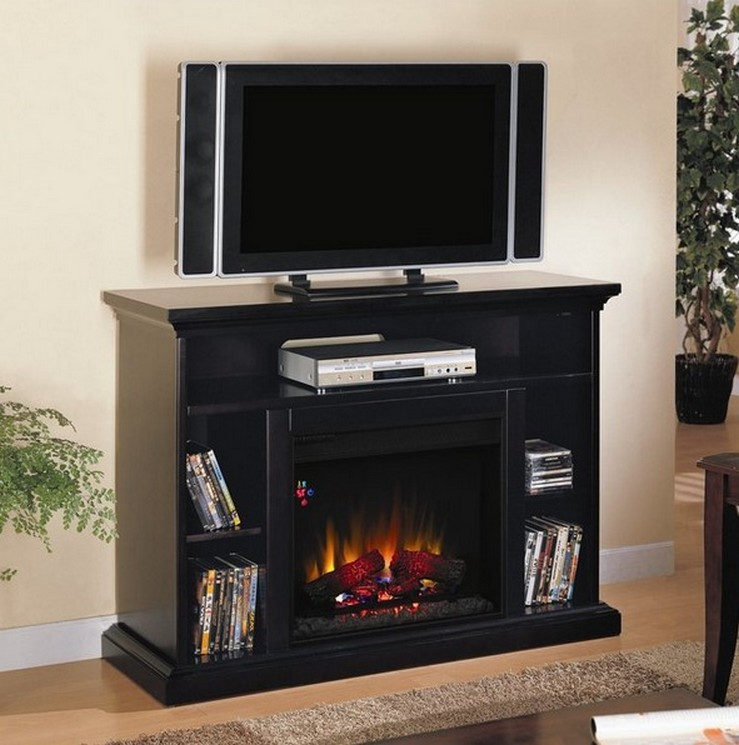 TV Stand Fireplace Hearth