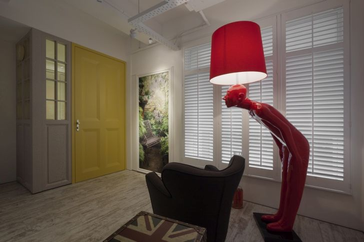 Futuristic Apartment Design with Architecture Modern Flat 5