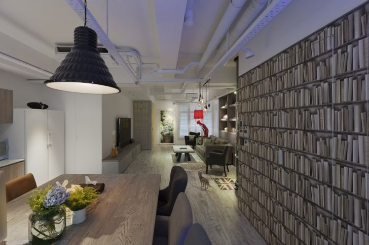 Futuristic Apartment Design with Architecture Modern Flat 9