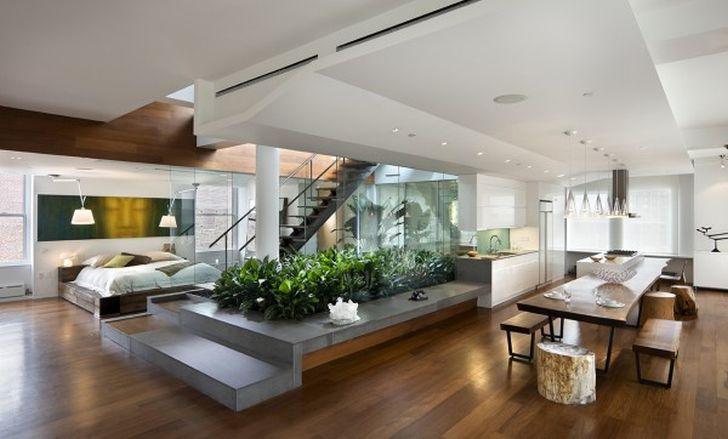 Open Home Floor Plan Loft
